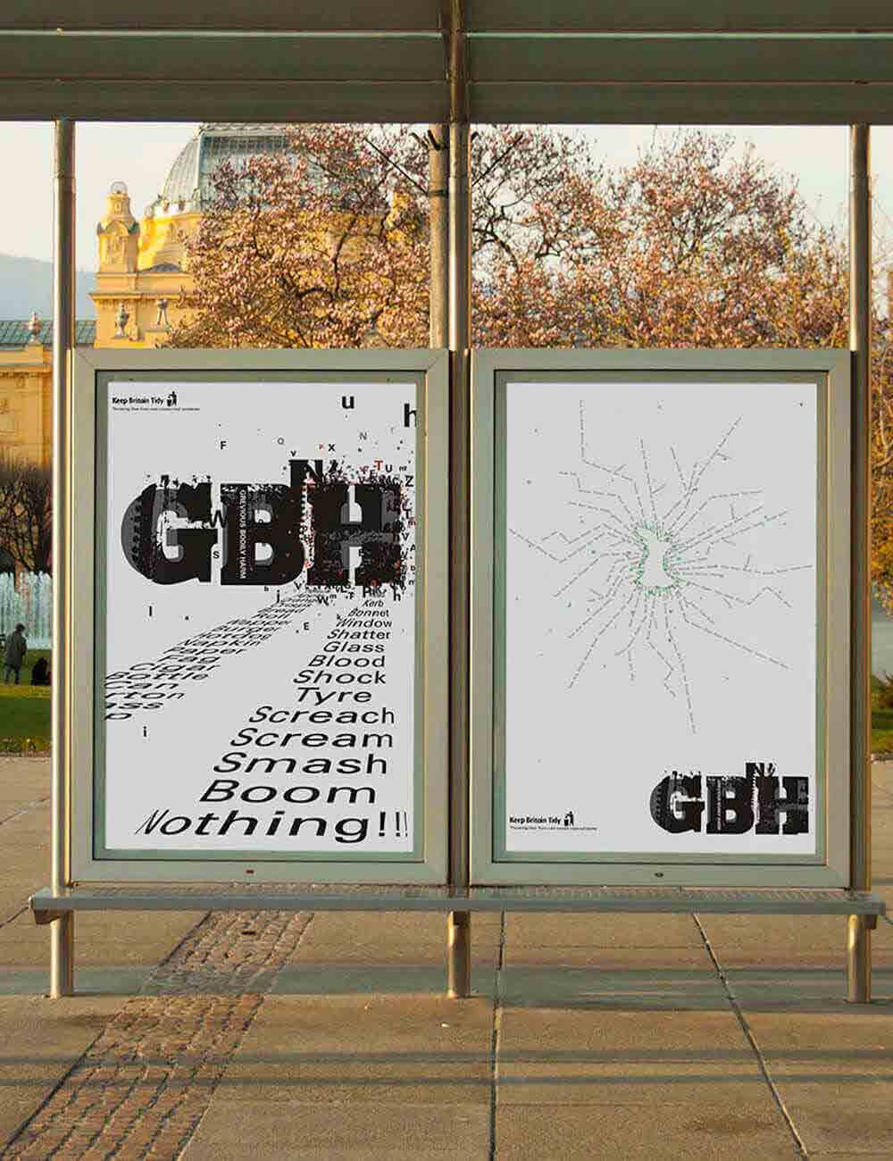 Grievous Bodily Harm Advertising Campaign
