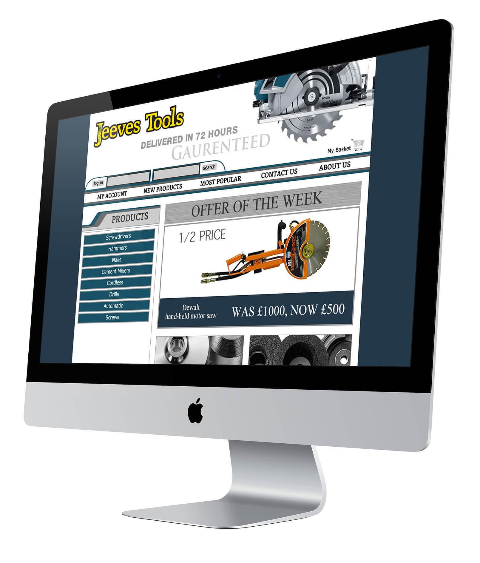Jeeves Website