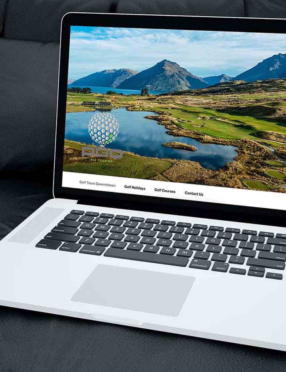 Peak Golf Queenstown Website