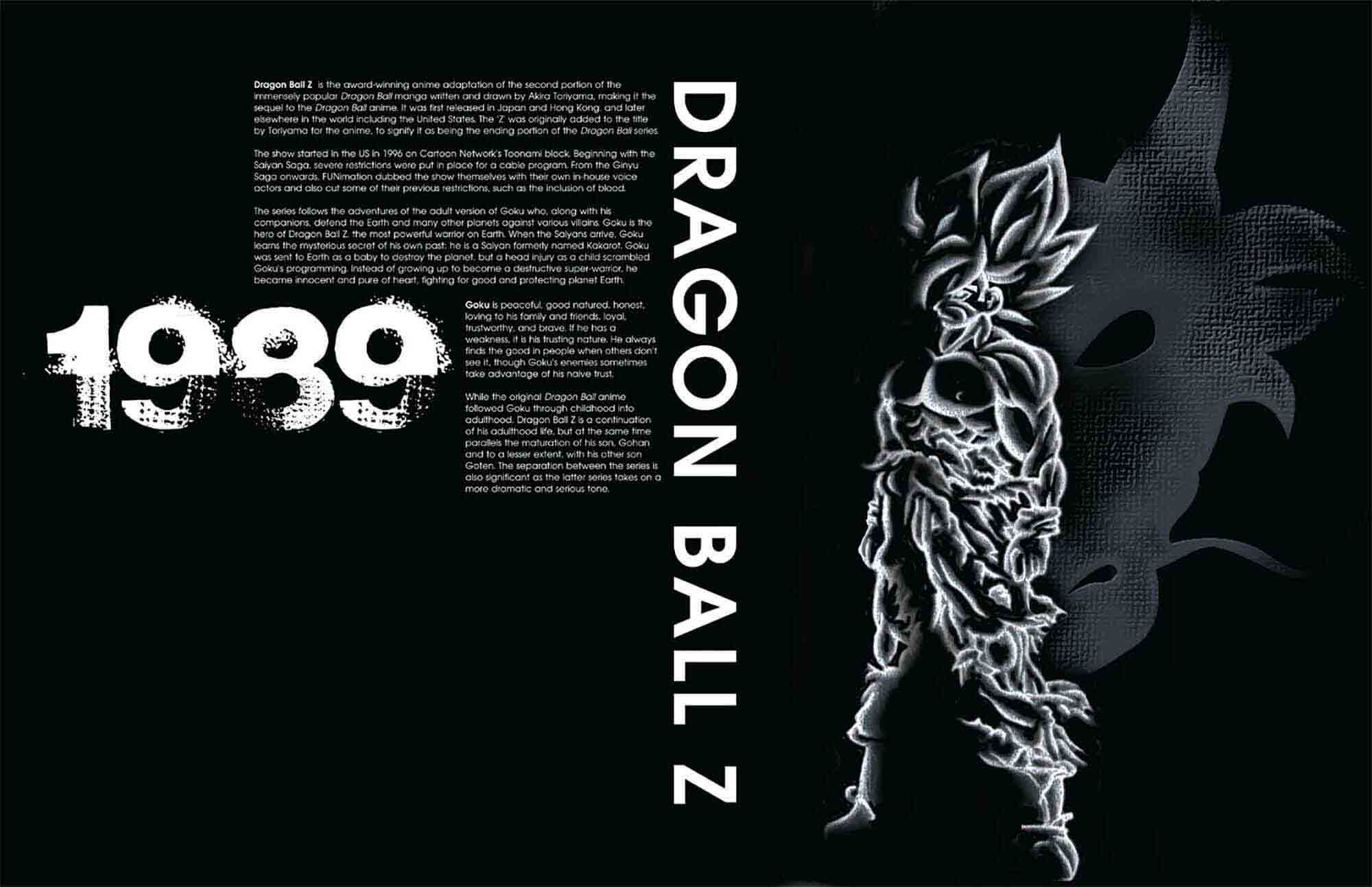 Eighties Animation Exhibition Dragon Ball Z Poster