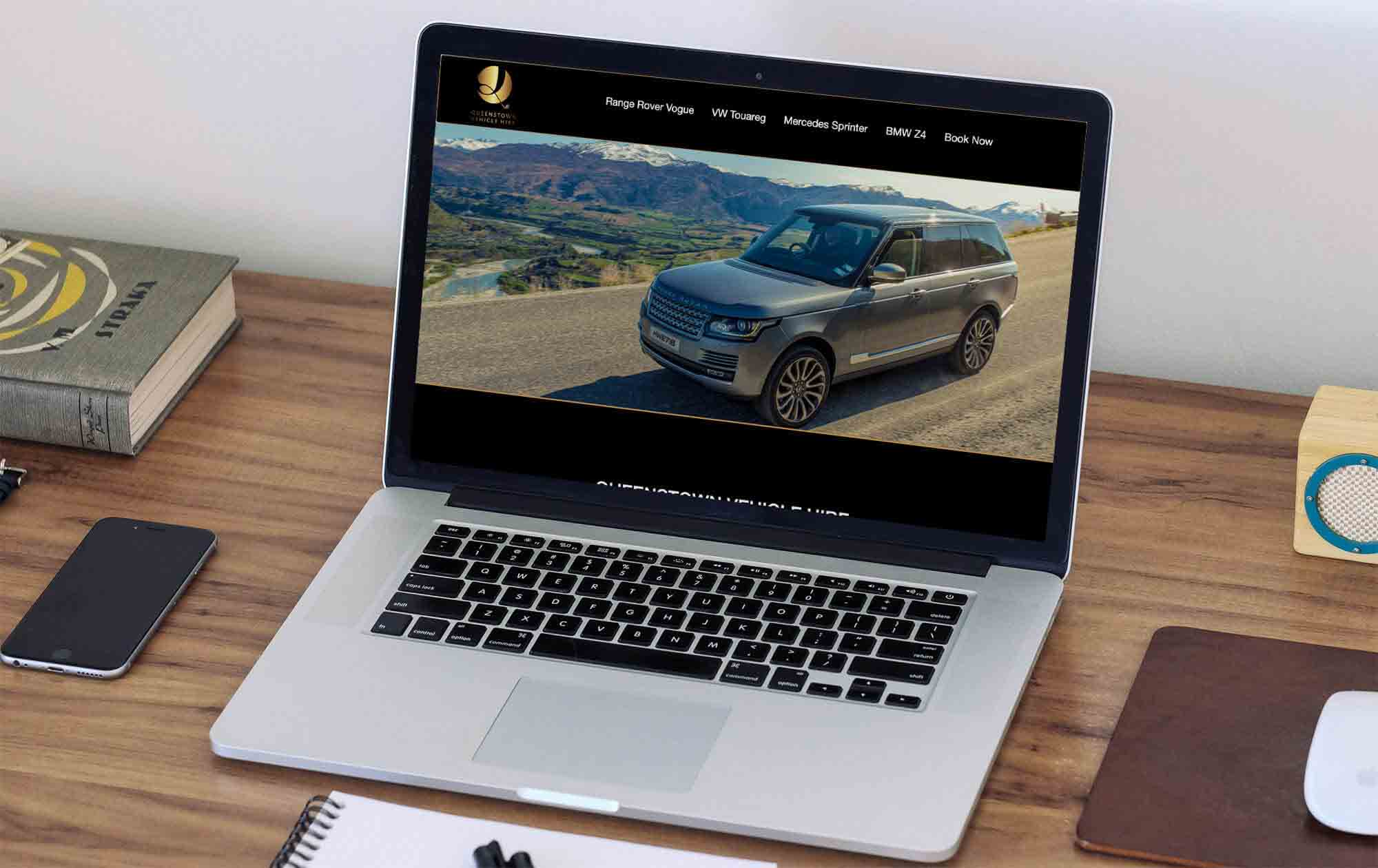 Vehicle Hire Queenstown Website