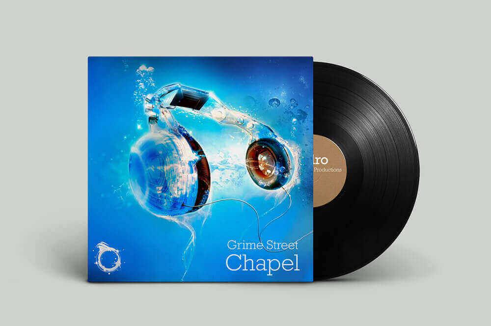 Hydro Recordings Album Artwork Vynal Record