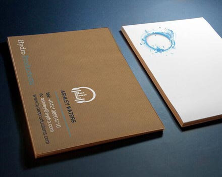 Hydro Recordings Business cards