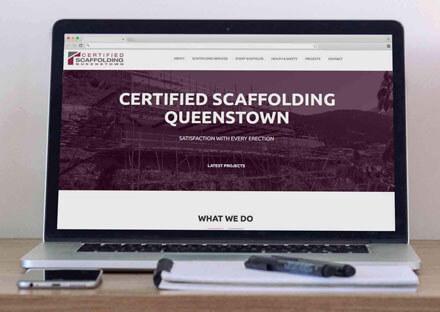 Certified Scaffolding Website
