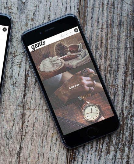 Gents Queenstown Mobile Optimised Website