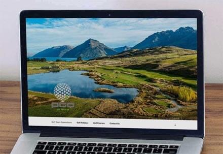 Peak Golf Queenstown Website Home Page