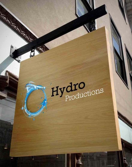 Hydro Recordings Signage