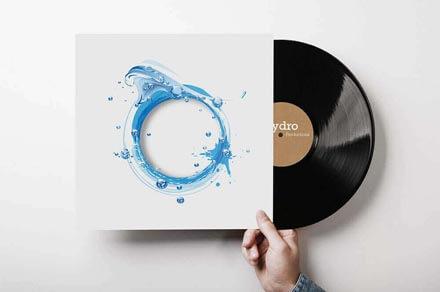 Hydro Recordings Album Artwork Vynal