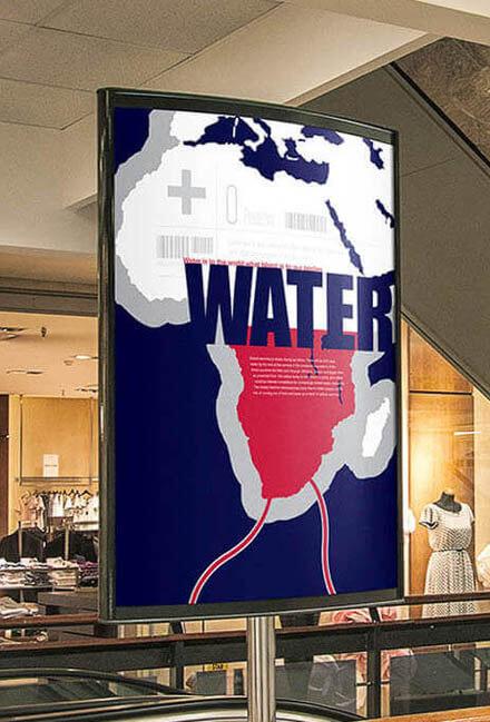 Scottish Water Advertising Poster