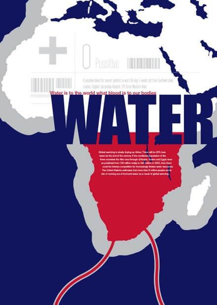 Scottish Water Poster Africa