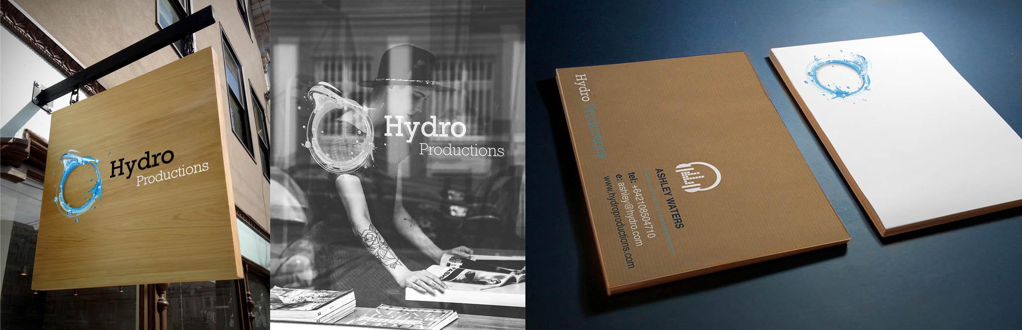 Hydro Recordings Graphic Design