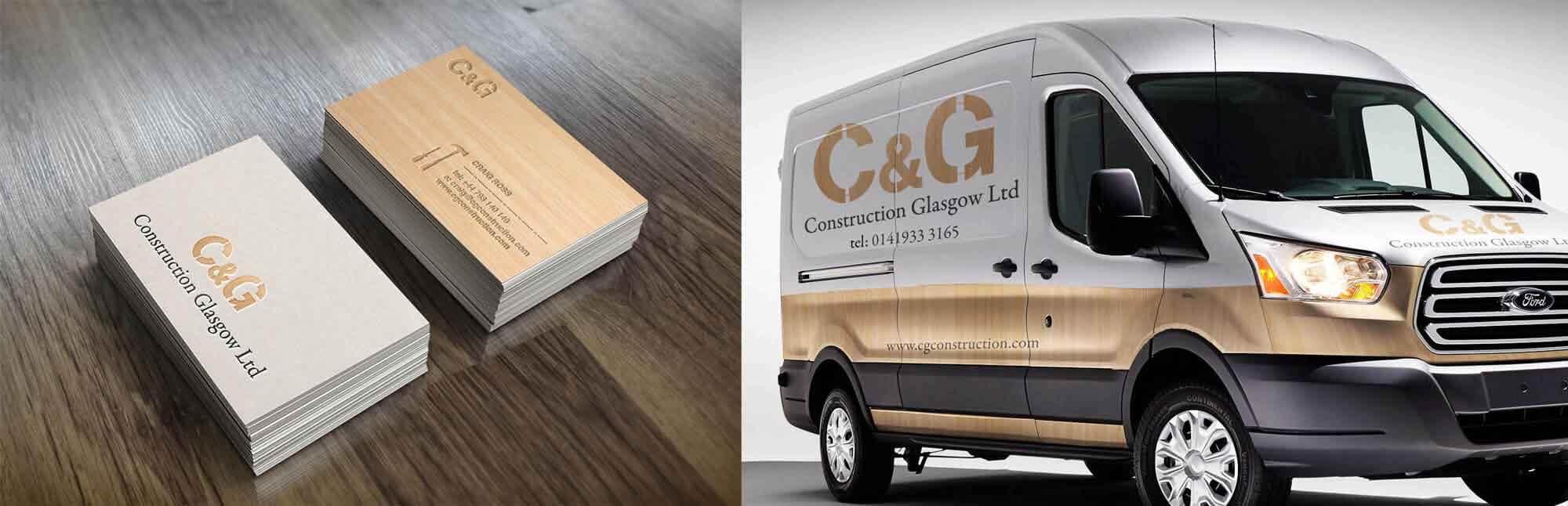 CG Construction Branding