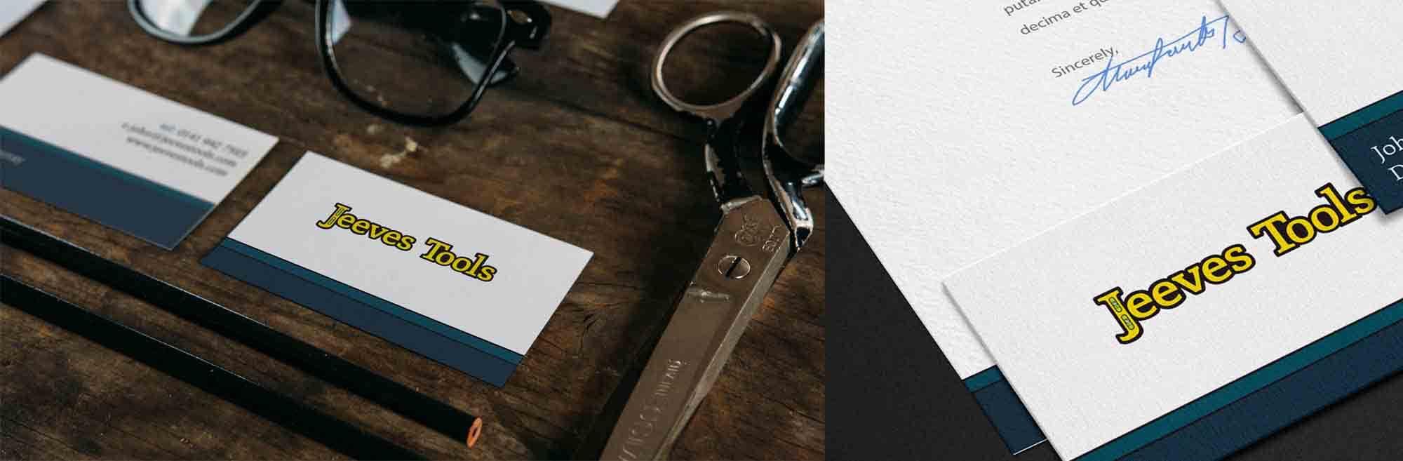 Jeeves Tools Branding